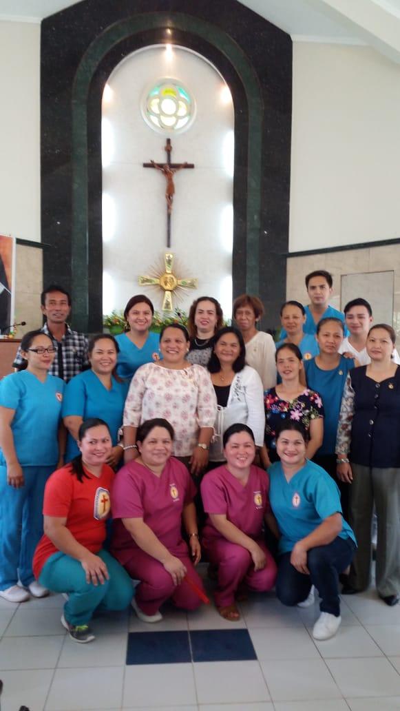 Come Servire La Messa.Filippine Messa Di Ringraziamento Per Lo Staff E Personale Che