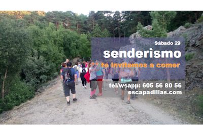 Aniversario con el grupo de senderismo - escapadillas.com