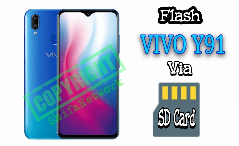 Cara Flash Vivo Y91 Tanpa PC Via Sdcard - Shifa Network