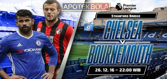 Prediksi Pertandingan Chelsea vs Bournemouth 26 Desember 2016