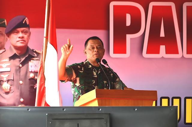 Panglima TNI: TNI-Polri Tetap Solid Wujudkan Stabilitas Politik