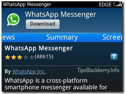 Free whatsapp can i download for for where blackberry