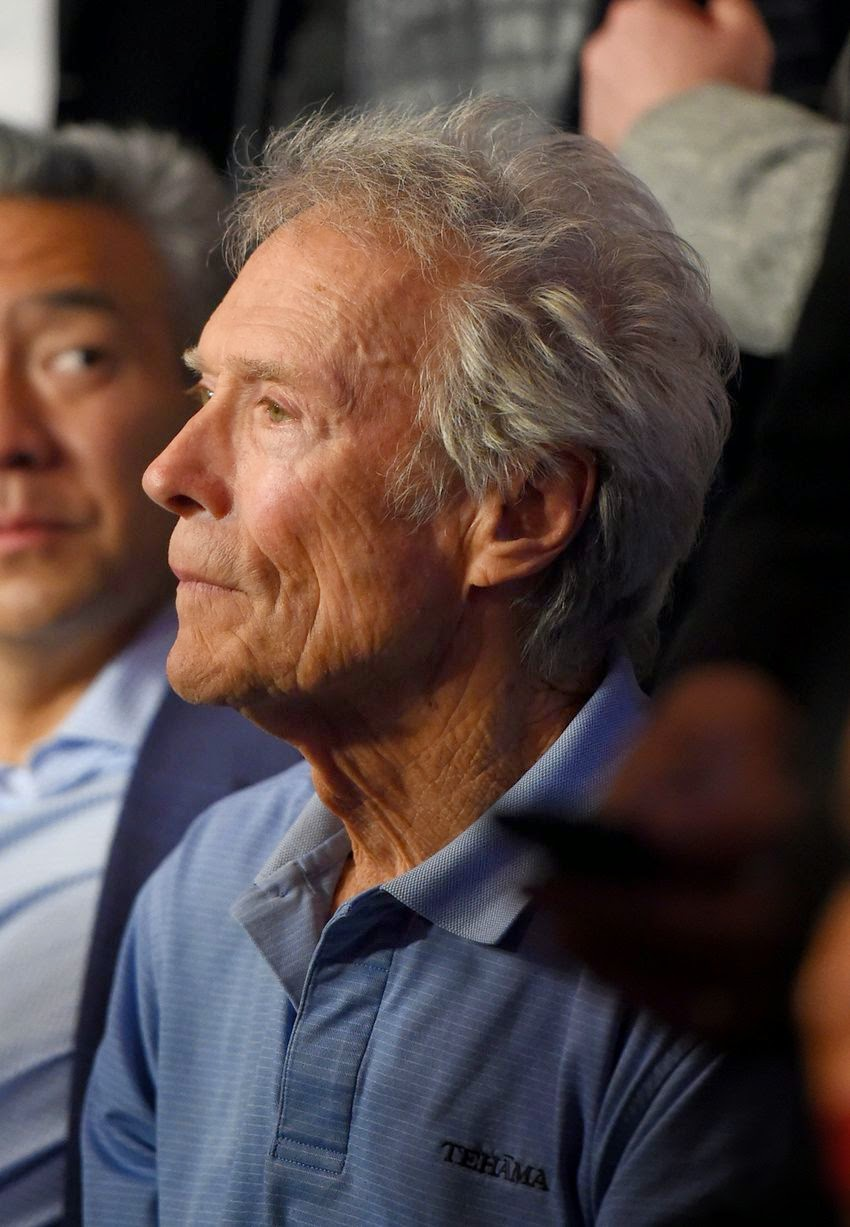 Clint Eastwood - Mayweather vs Pacquiao Fight in Las Vegas