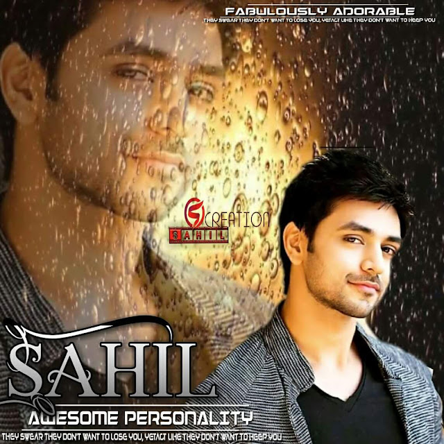 romantic eyes boy dp sahil name