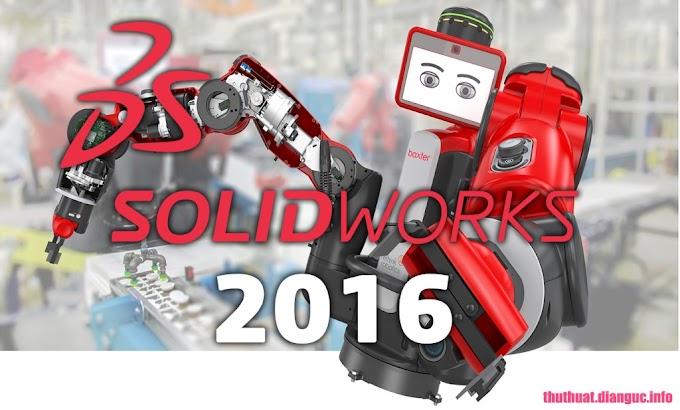 Download SolidWorks 2016 Full Cr@ck