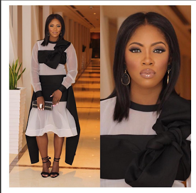 Tiwa Savage Goes Braless For Elle Magazine South Africa. Check It Out