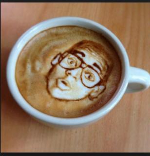 Resep Membuat Latte Art 3D di Atas Permukaan Kopi