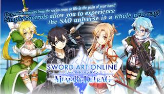 Sword Art Online Memory Defrag Apk Latest