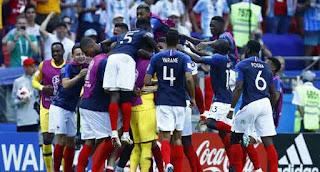France beat Argentina To Reach Quarter-Finals