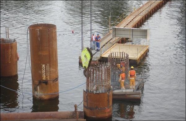 Concretagem ponte