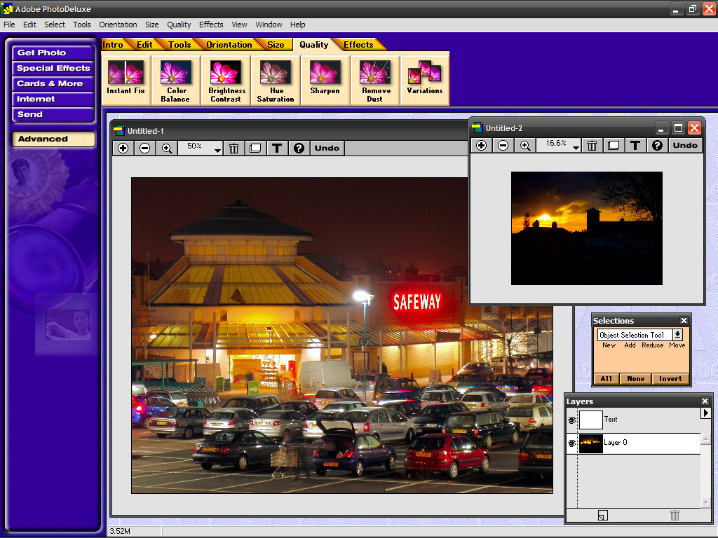 Adobe PhotoDeluxe