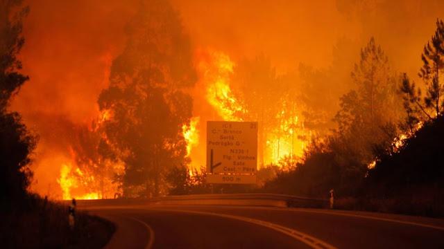 Τραγωδία στην Πορτογαλία -  57 νεκροί από πυρκαγιά (βίντεο)
