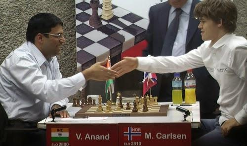 Magnus Carlsen vs Viswanathan Anand   2014 World Chess ...