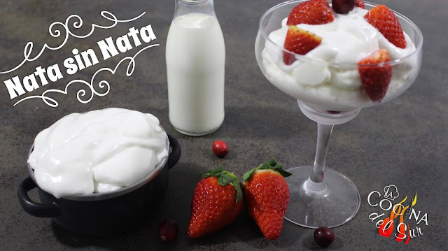TURN MILK INTO WHIPPED CREAM - Nata sin Nata