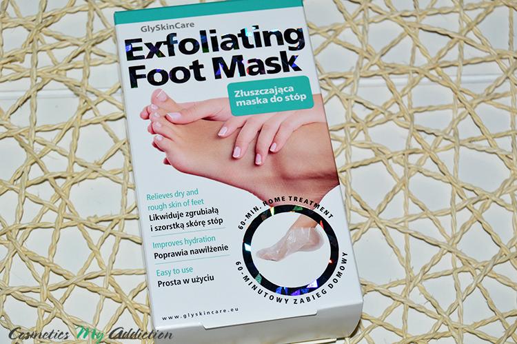 GLYSKINCARE | Złuszczająca maska do stóp