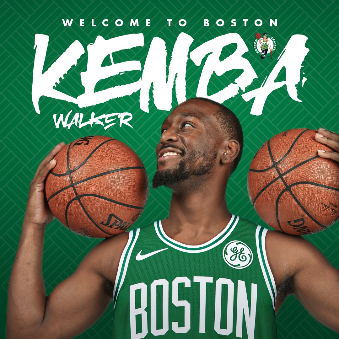 quality design bd113 25f78 Celtics Life: Kemba Walker signing and Terry Rozier sign-and ...