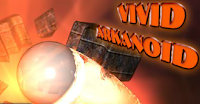 Vivid Arkanoid (Action Game)