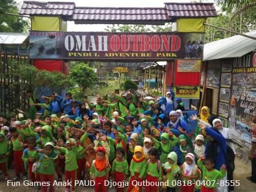Paket Outbound PAUD di Jogja