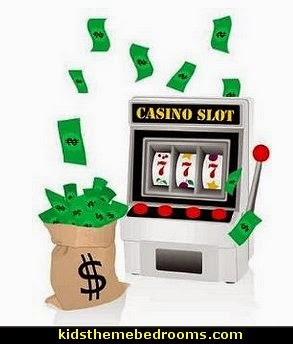 Casino Theme Decorations - Las Vegas Casino Themed decorating ideas - casino themed bedroom decorating ideas - Casino Wall Decorations -   Las Vegas Themed Bedroom Decor -  Casino Party Supplies - games room vegas themed bedroom ideas -