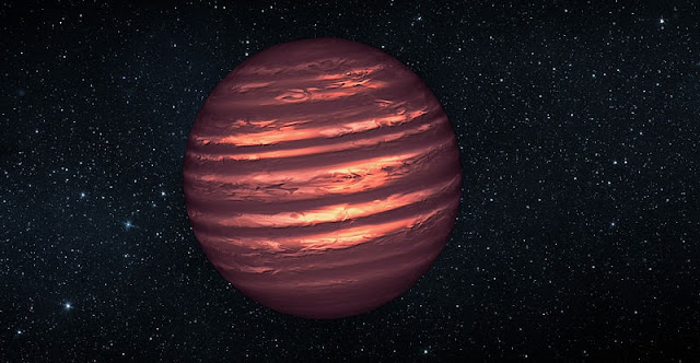 Artist's concept of a brown dwarf. Credit: NASA/JPL-Caltech