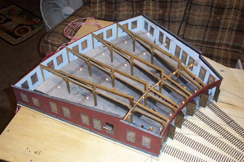 My Model Railroad Roundhouse Project Overhaul