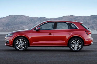 New Audi Q5 SUV Side Hd Image