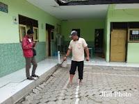 Tanah Bergerak, Bangunan SDN 02 Tugurejo Slahung Terancam Ambrol