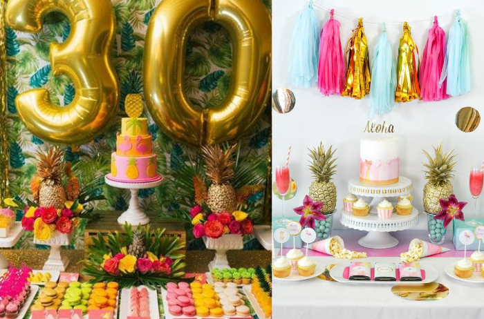 festa tropical, festa flamingo, festa abacaxi