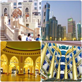 Inside the Burj Al Arab Hotel plus downtown Dubai Mall in Dubai, UAE