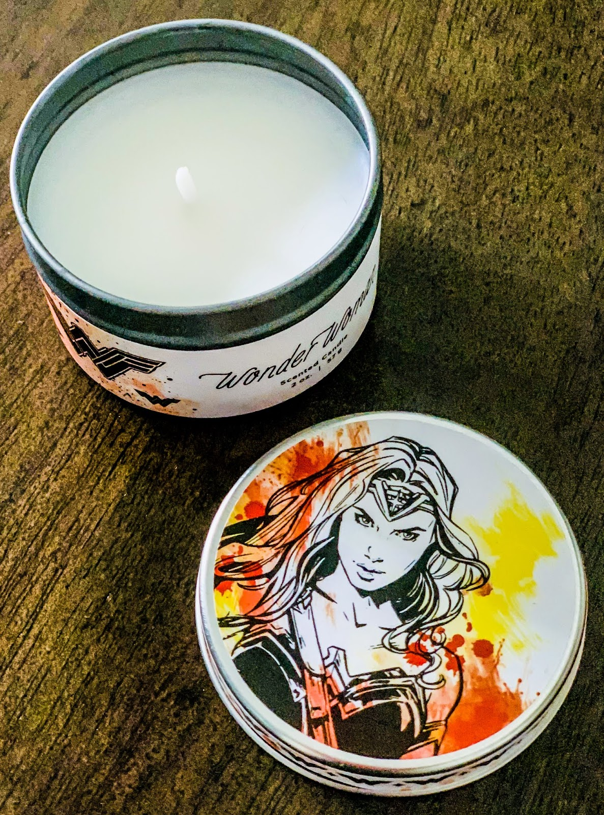 Wonder Woman Candle