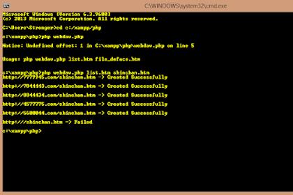 Cara Menjalankan Script PHP Di Windows