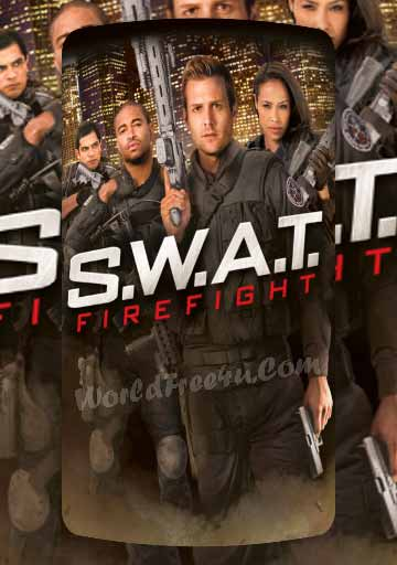 Poster Of SWAT Firefight (2011) Full Movie Hindi Dubbed Free Download Watch Online At worldofree.co