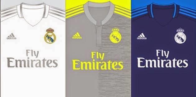 Jersey Real Madrid Musim 2015-2016