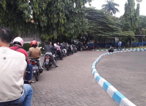 Bayar Pajak motor via Drive Thru Samsat Jakarta Timur