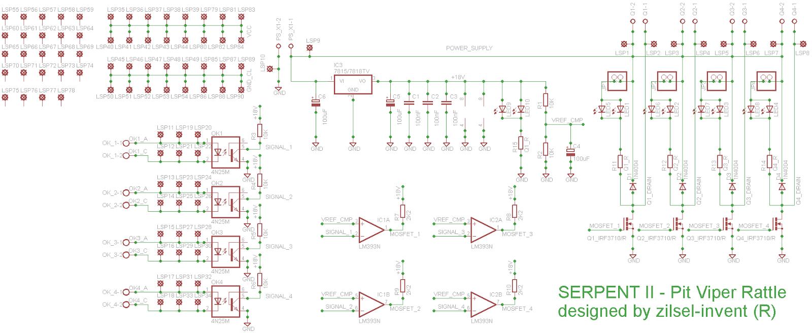 Serpent Ii Pit Viper Rattle Dc Motor Controller Diagram Image