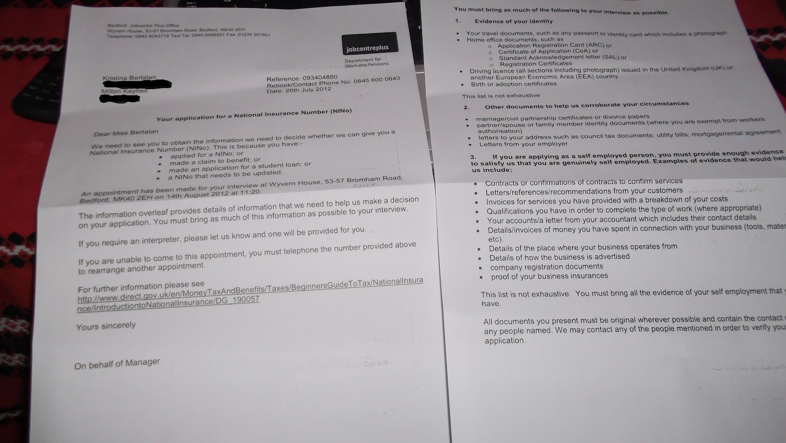 50 Miles From London Ni Letter Part2 Job Agency