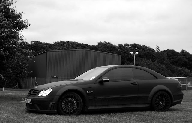 mercedes clk w209 black series