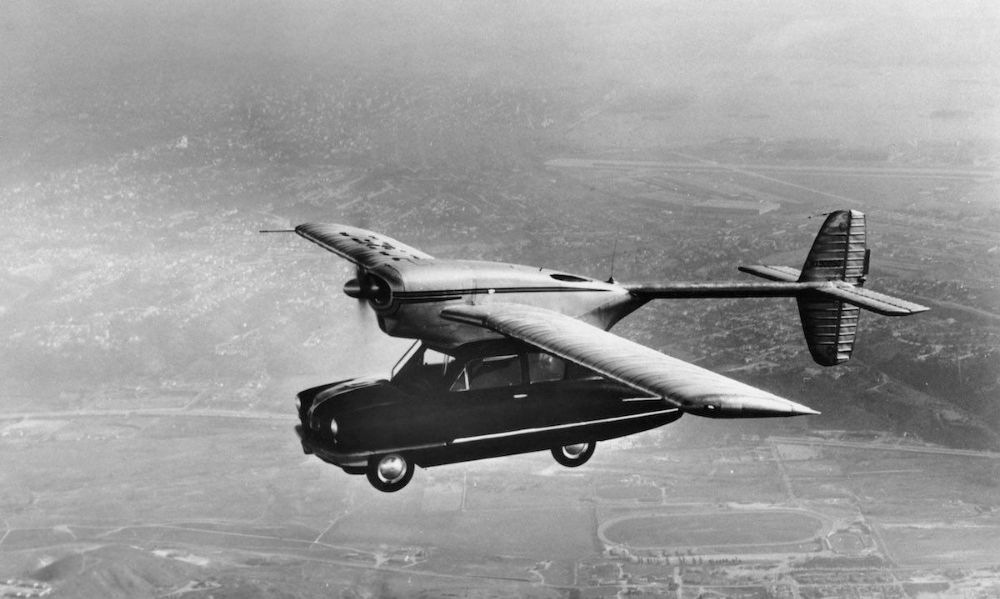 Vintage Photos of 12 Cool Flying Cars That Really Existed in