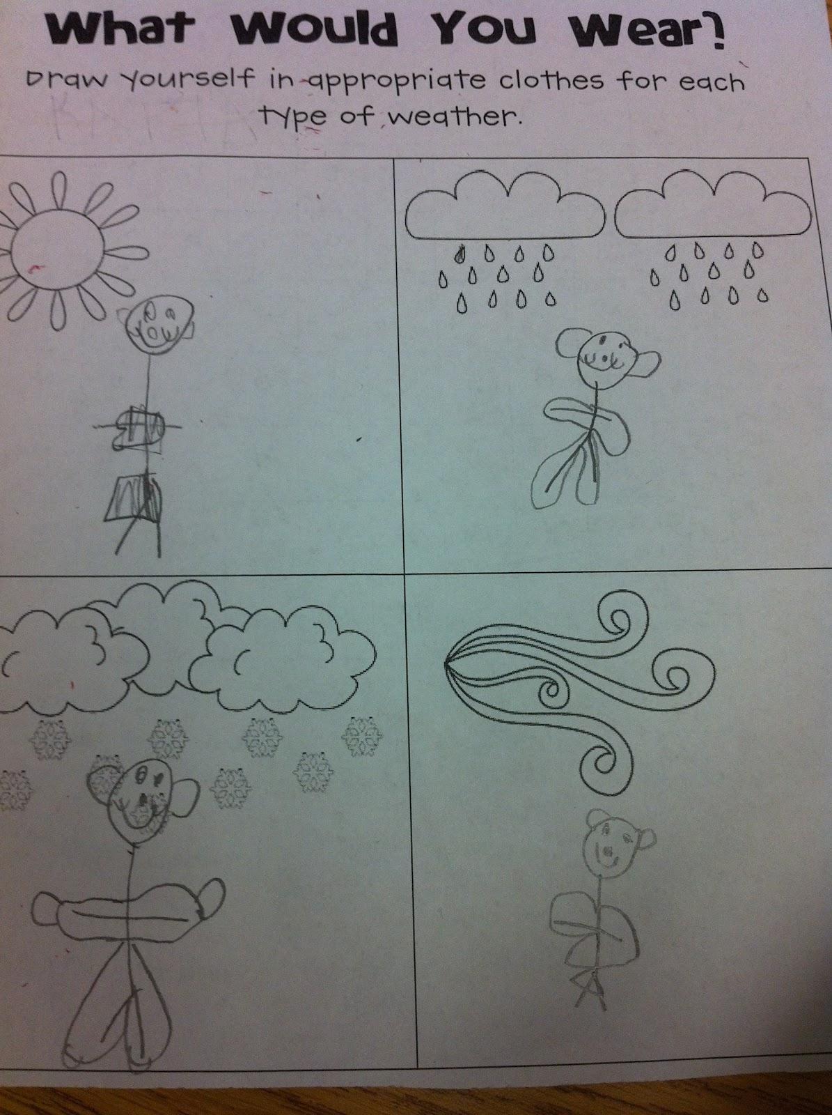 The Adventures Of A K 1 Teacher Wacky Weather Fun