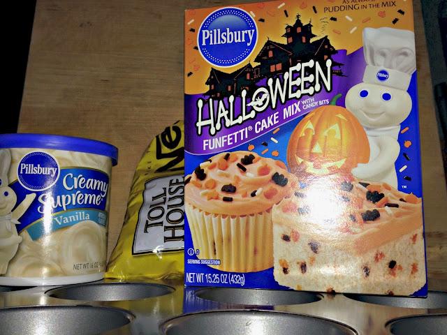 Mummy Cupcake Recipe
