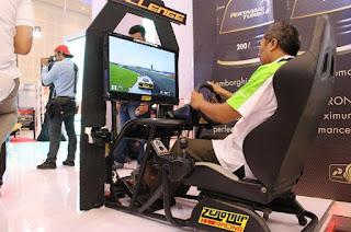 Gambar Simulator Lamborghini