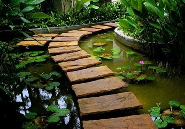 Indoor and Outdoor Water Garden Design Ideas Homesigner