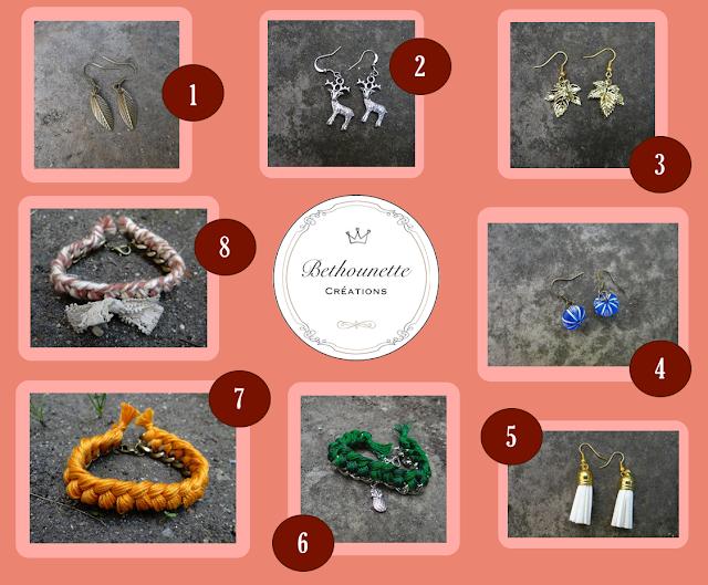 Bethounette bijoux