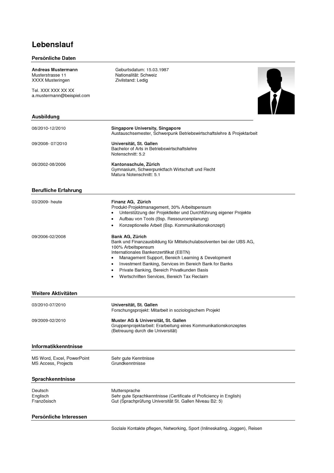 lebenslauf im pdf format erstellen so gehts. lebenslauf vorlage 2016 ...