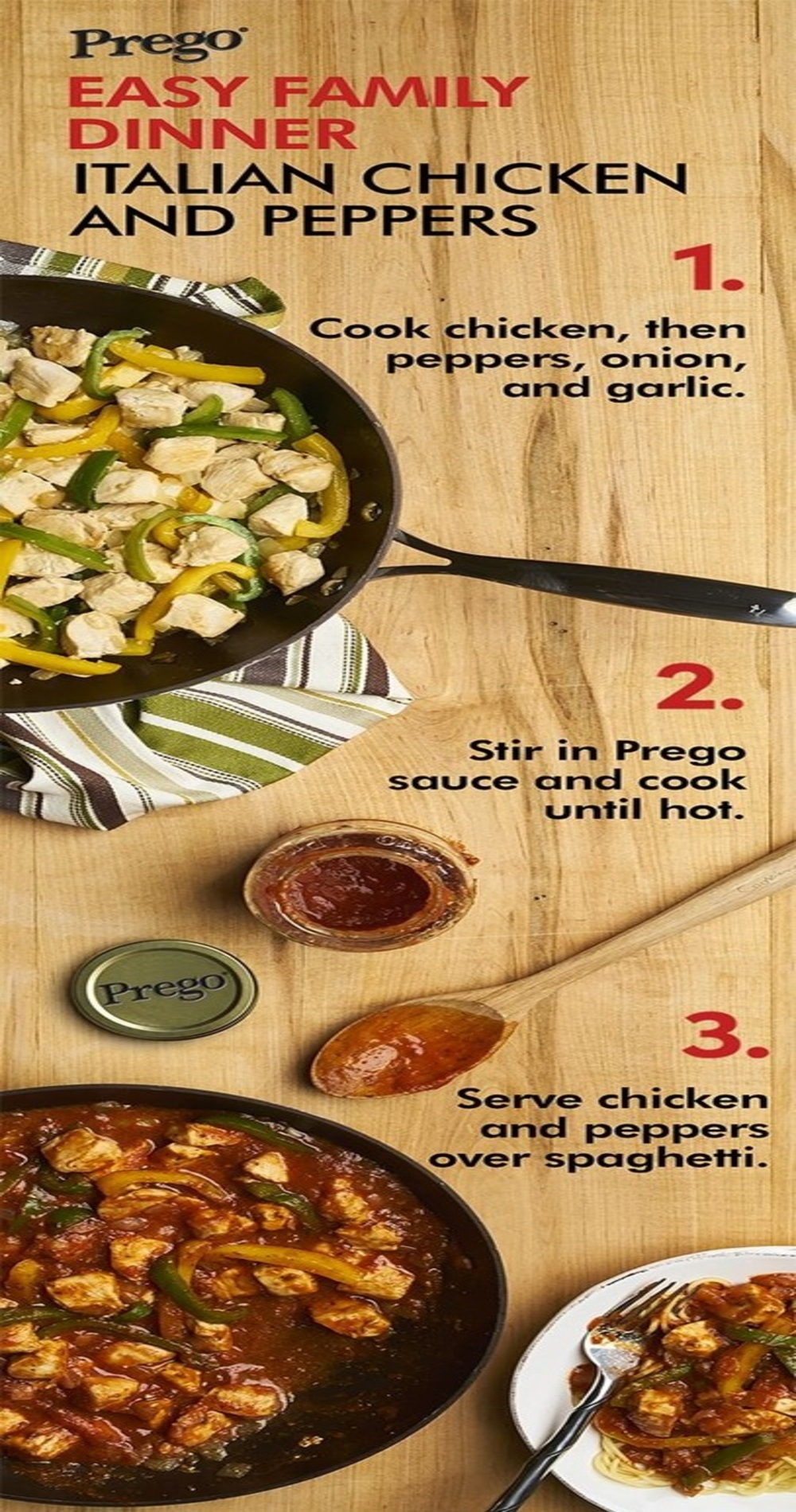 Italian Chicken & Peppers