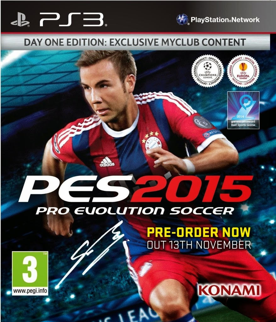 Pro Evolution Soccer 2015 PS3 free download full version