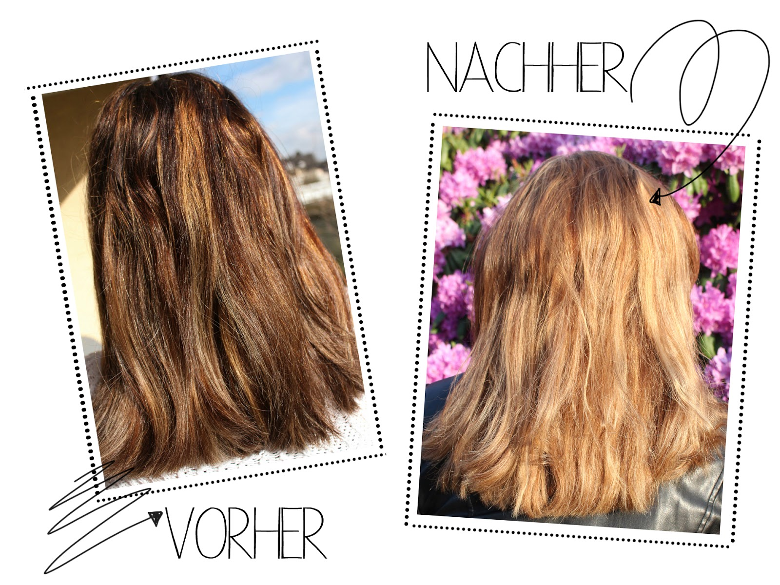 Braune Haare Mit Blonden Strähnen Selber Machen Lifestyle Make Up Skincare Haircare Another Kind Of Beauty Blog