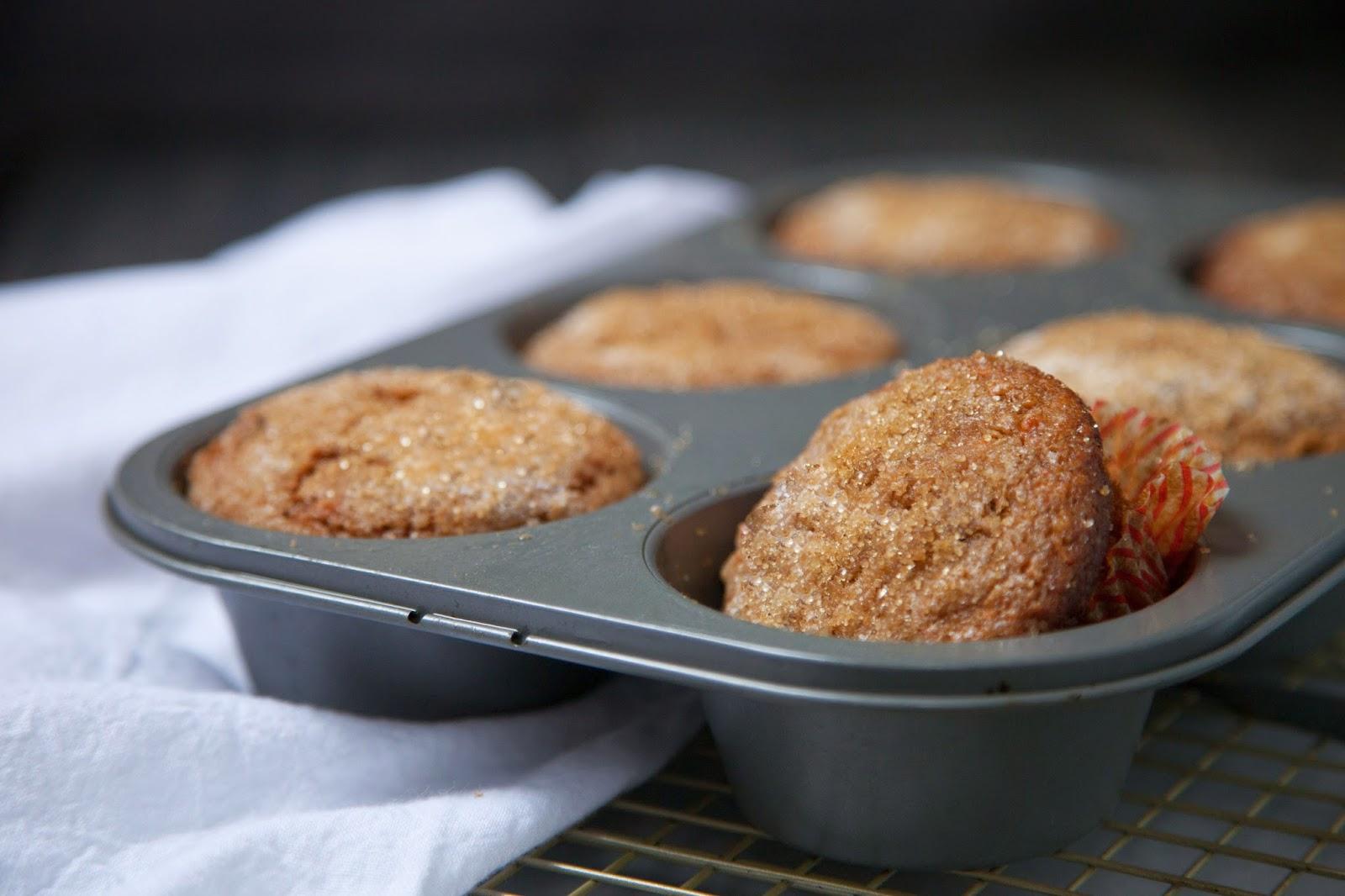 savory nest: Apple-Carrot Morning Glory Muffins {for Stemilt
