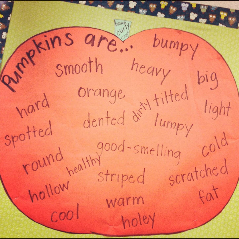 Simply Second Grade Pumpkins Pick Up Your Pumpkin Glyph