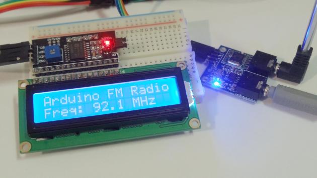 FM stereo radio module Arduino TEA5767